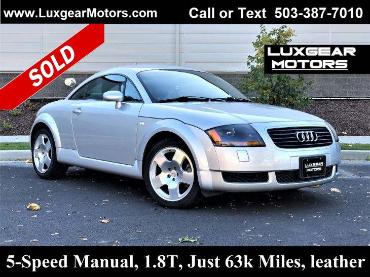 2001 Audi TT 1.8T Coupe, 5-Speed
