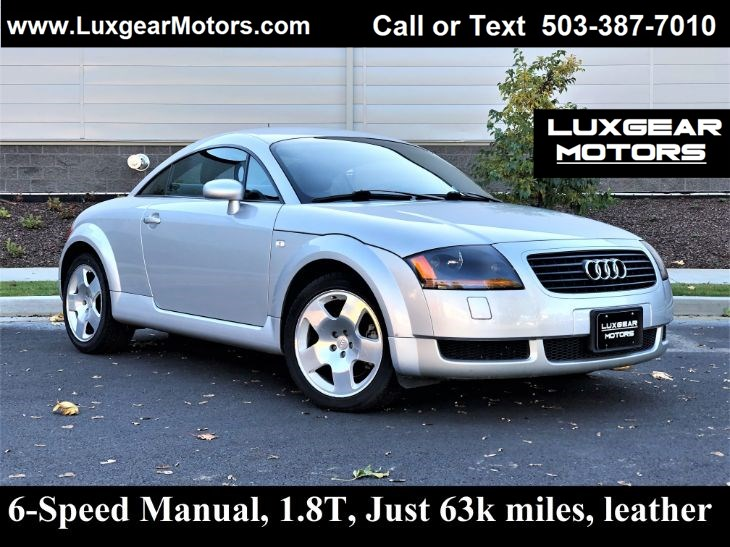 2001 Audi TT 1.8T, 5-Speed Manual, Leather, Just 63k Miles