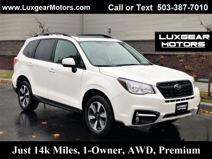 2018 Subaru Forester Premium AWD, 32MPG, Htd Seats, Backup Cam, Sunroof