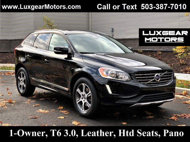 2014 Volvo XC60 3.0L T6 AWD Htd Seats, Leather, Sunroof, Bluetooth
