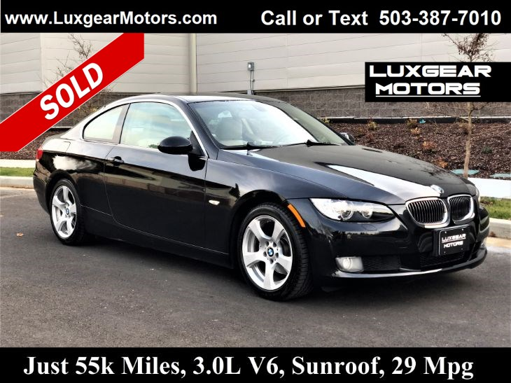 Sold 2007 Bmw 3 Series 328i Coupe In Portland
