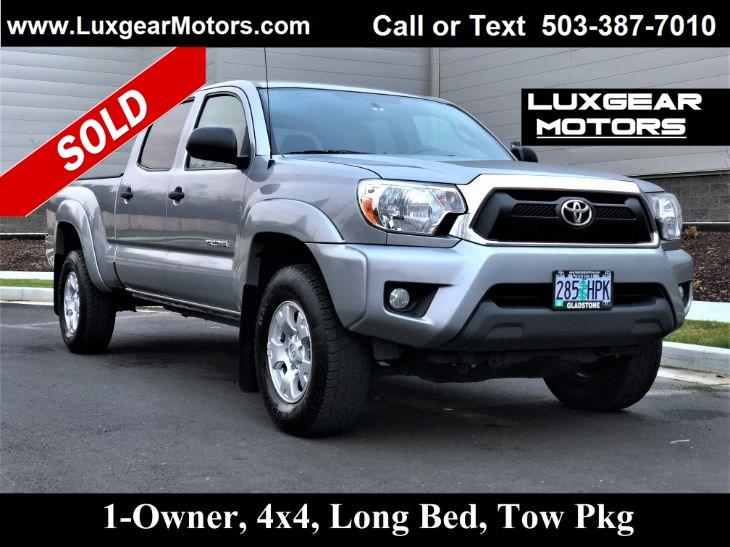 2015 Toyota Tacoma 4WD V6 Long Bed