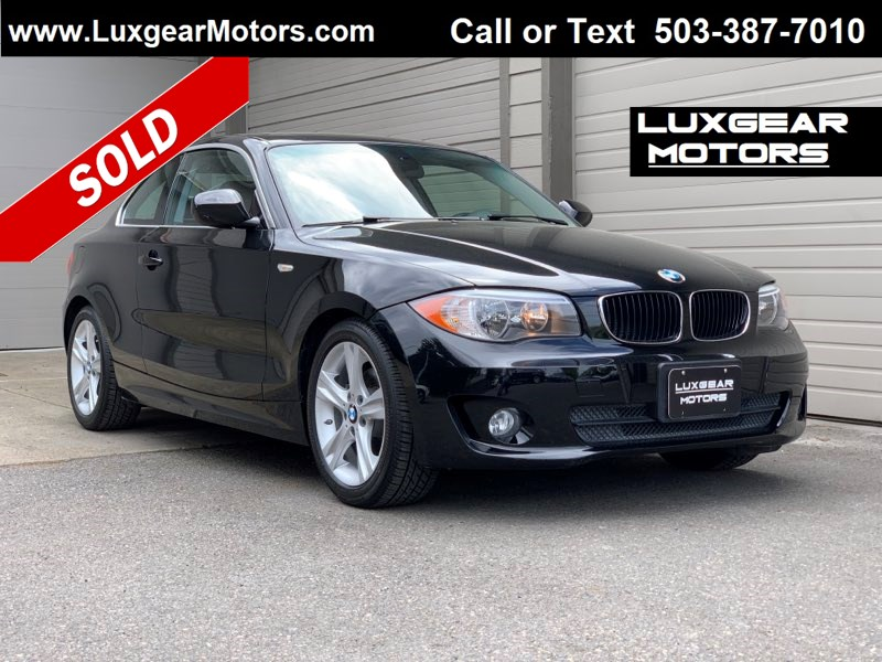 2012 BMW 1 Series 128i Premium Package