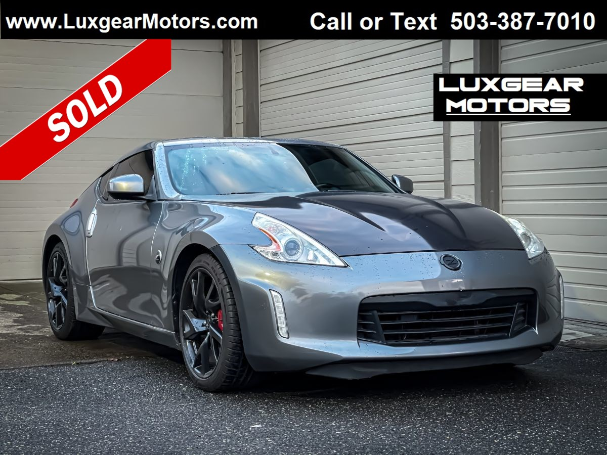 2013 Nissan 370Z Touring 6-Speed w/Sport Package Coupe