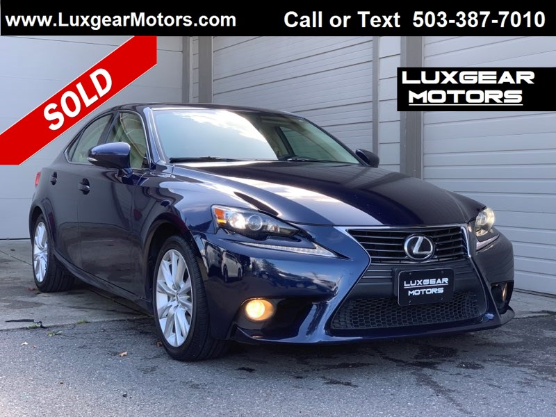 2014 Lexus IS 250 RWD Sedan