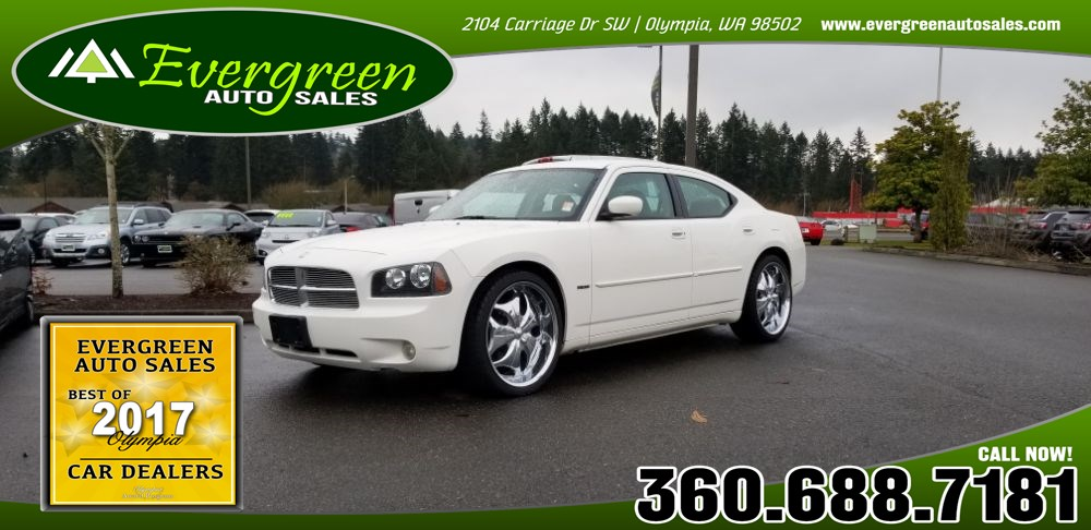 Used 2006 dodge charger for sale in olympia wa evergreen auto sales 2006 dodge charger rt publicscrutiny Image collections