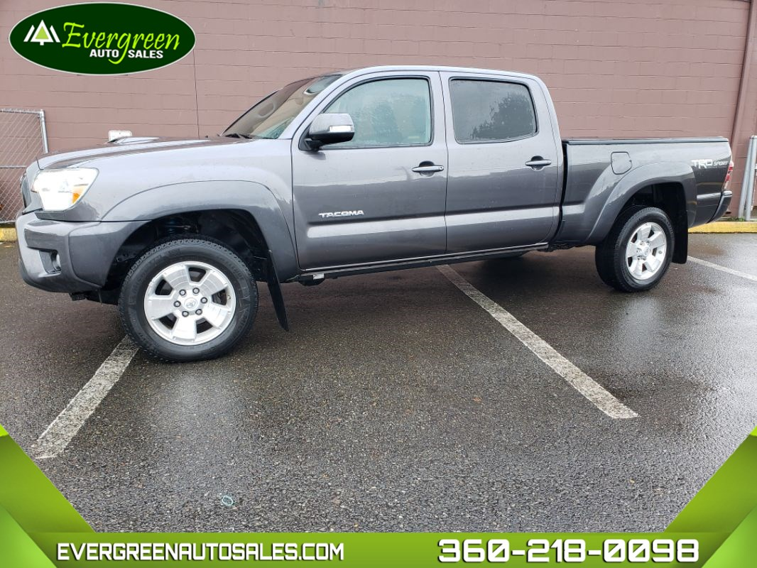 2015 Toyota Tacoma Double Cab TRD Sport Long Bed