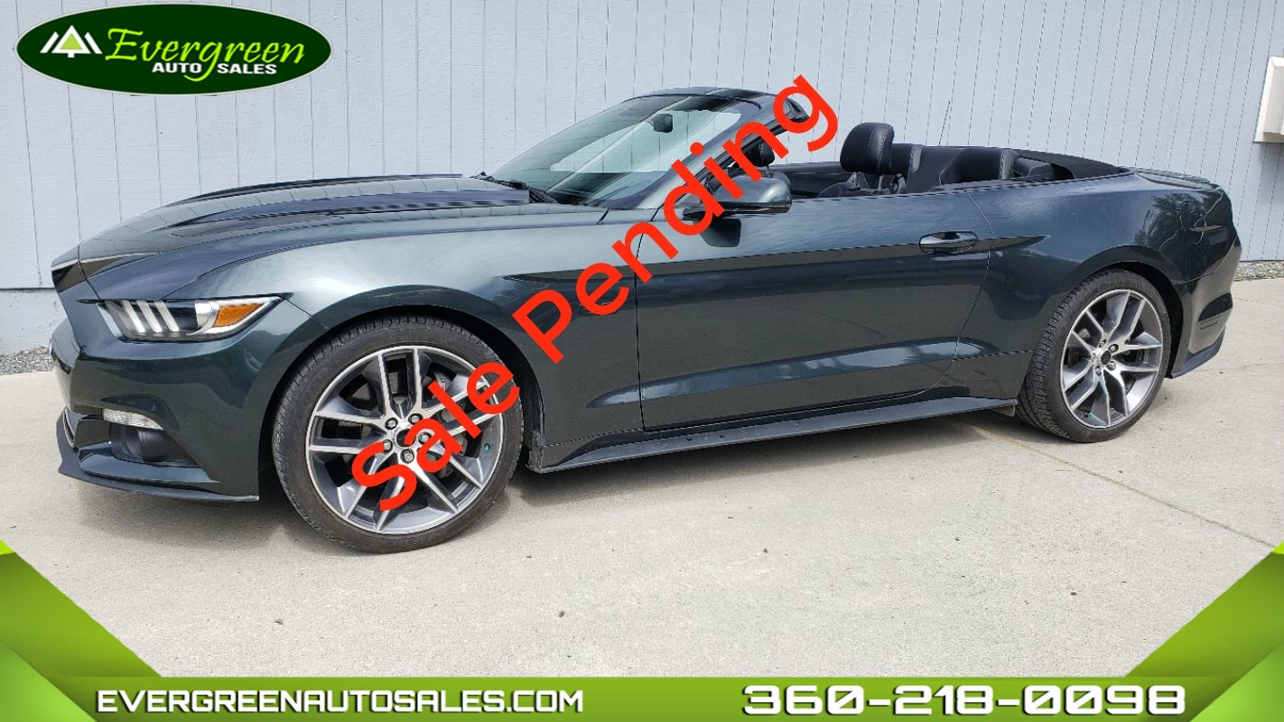 2015 Ford Mustang GT Premium Convertable