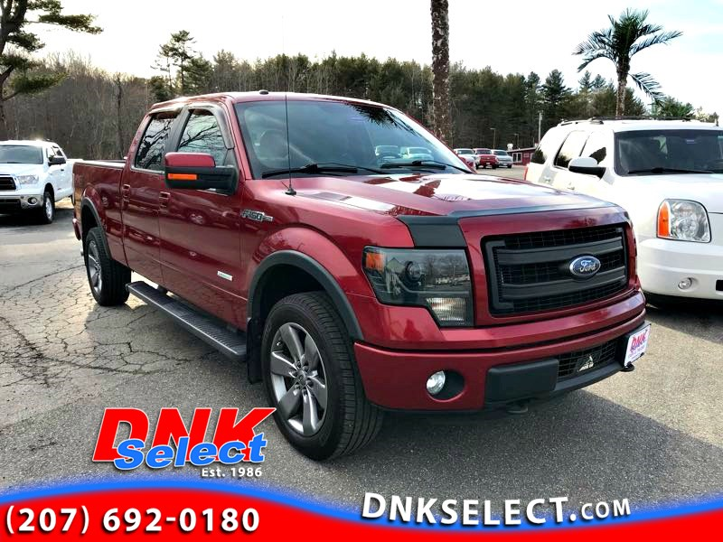 2014 Ford F-150 FX4 SuperCrew 6.5-ft. Bed 4WD Pickup Truck