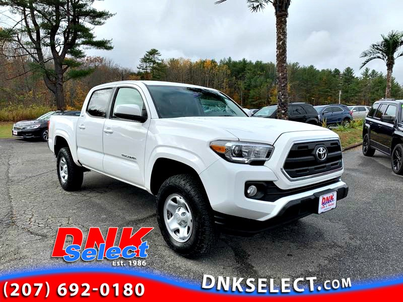 2016 Toyota Tacoma SR5 Double Cab Short Bed V6 6AT 4WD