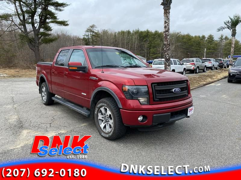 2014 Ford F-150 FX4 SuperCrew 5.5-ft. Bed 4WD Pickup Truck
