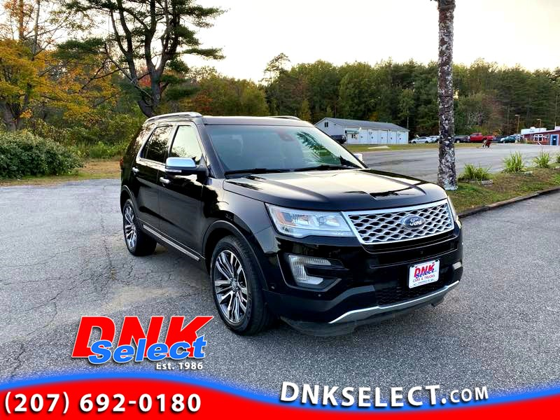 2016 Ford Explorer Platinum 4WD Full-Size