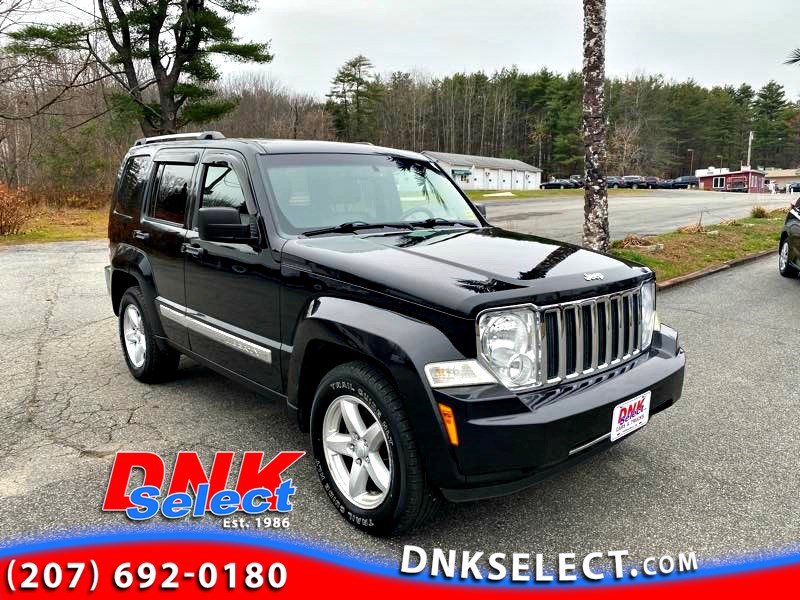 2011 Jeep Liberty Limited 4WD Crossover