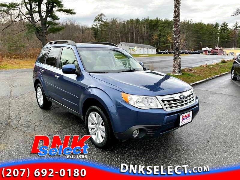 2013 Subaru Forester 2.5X Limited AWD Crossover