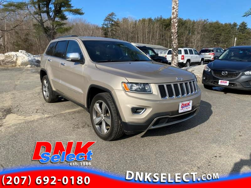 2015 Jeep Grand Cherokee Limited 4WD Mid-Size