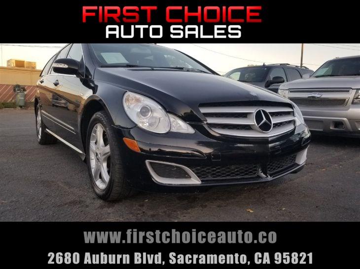 Mercedes Benz Of Sacramento >> 2009 Mercedes Benz R320 R 320 Bluetec First Choice Auto Sales