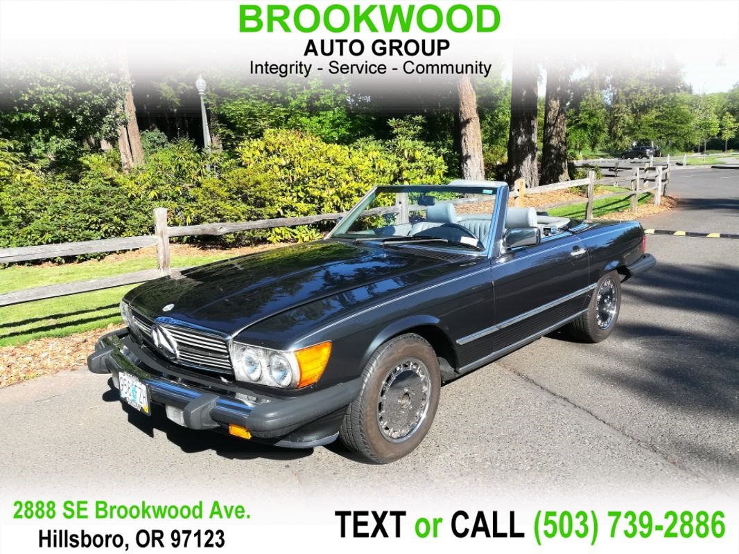 Used 1988 For Sale In Hillsboro Or Brookwood Auto Group 560sl Fuel Filter Mercedes Benz 2dr Roadster