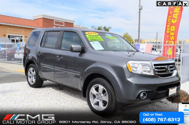 2012 Honda Pilot EX-L 4WD *LEATHER *LOADED