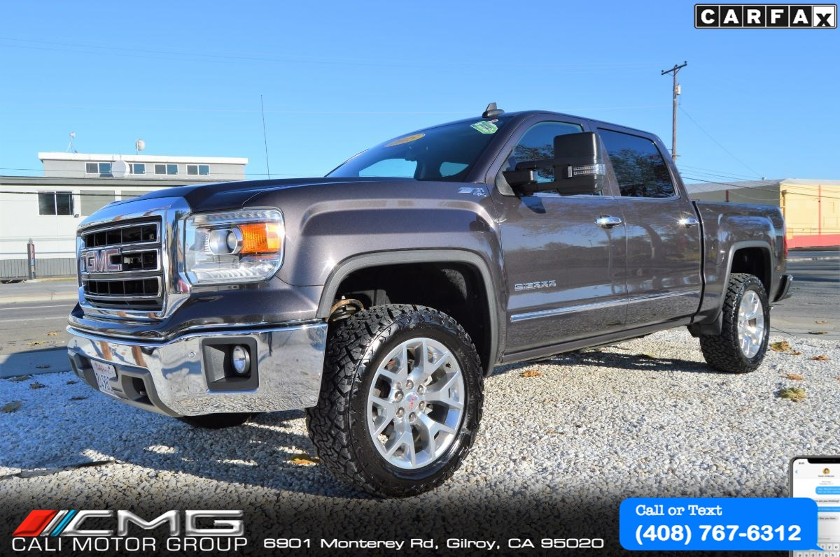 2015 GMC Sierra 1500 SLT Z71 PKG *LOADED W/ LEVELING KIT *4X4