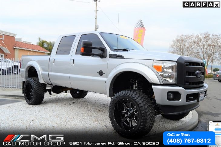 2012 Ford Super Duty F-250 Lariat *W/FOX LIFT-KIT *DIESEL *4X4