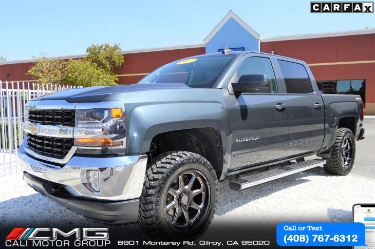 2017 Chevrolet Silverado 1500 LT PLUS *LIFTED *OFF-ROAD PKG *4X4