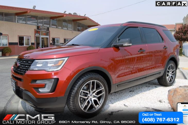 2017 Ford Explorer SPORT PLUS PKG *3TH ROW SEAT *4WD