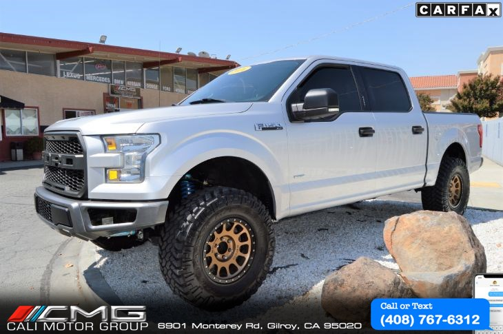 2016 Ford F-150 XLT *LIFTED *W/ FULL FOX SUSPENSION