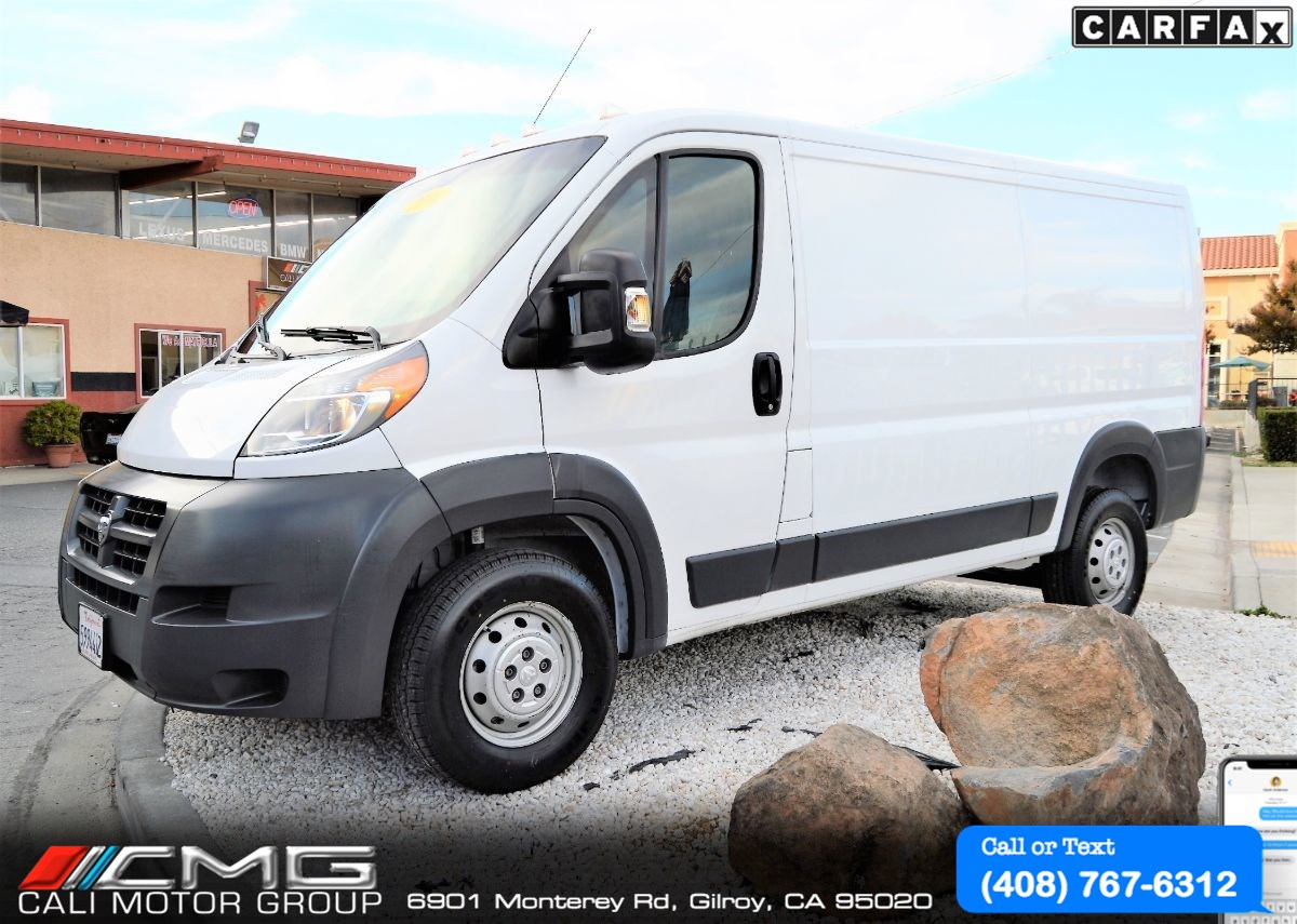 2016 Ram ProMaster Cargo Van 1500 LOW ROOF *BACK-UP CAMERA
