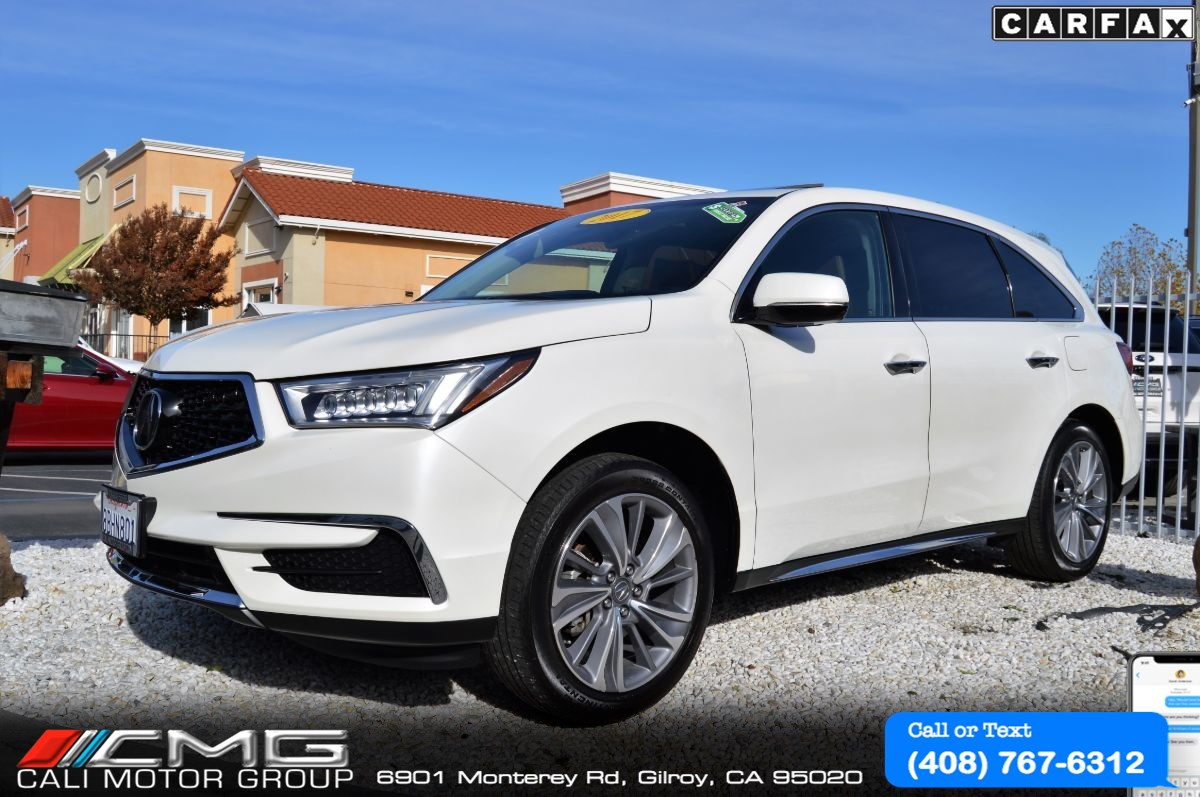 2017 Acura MDX SH-AWD w/Technology PKG *3TH ROW SEAT