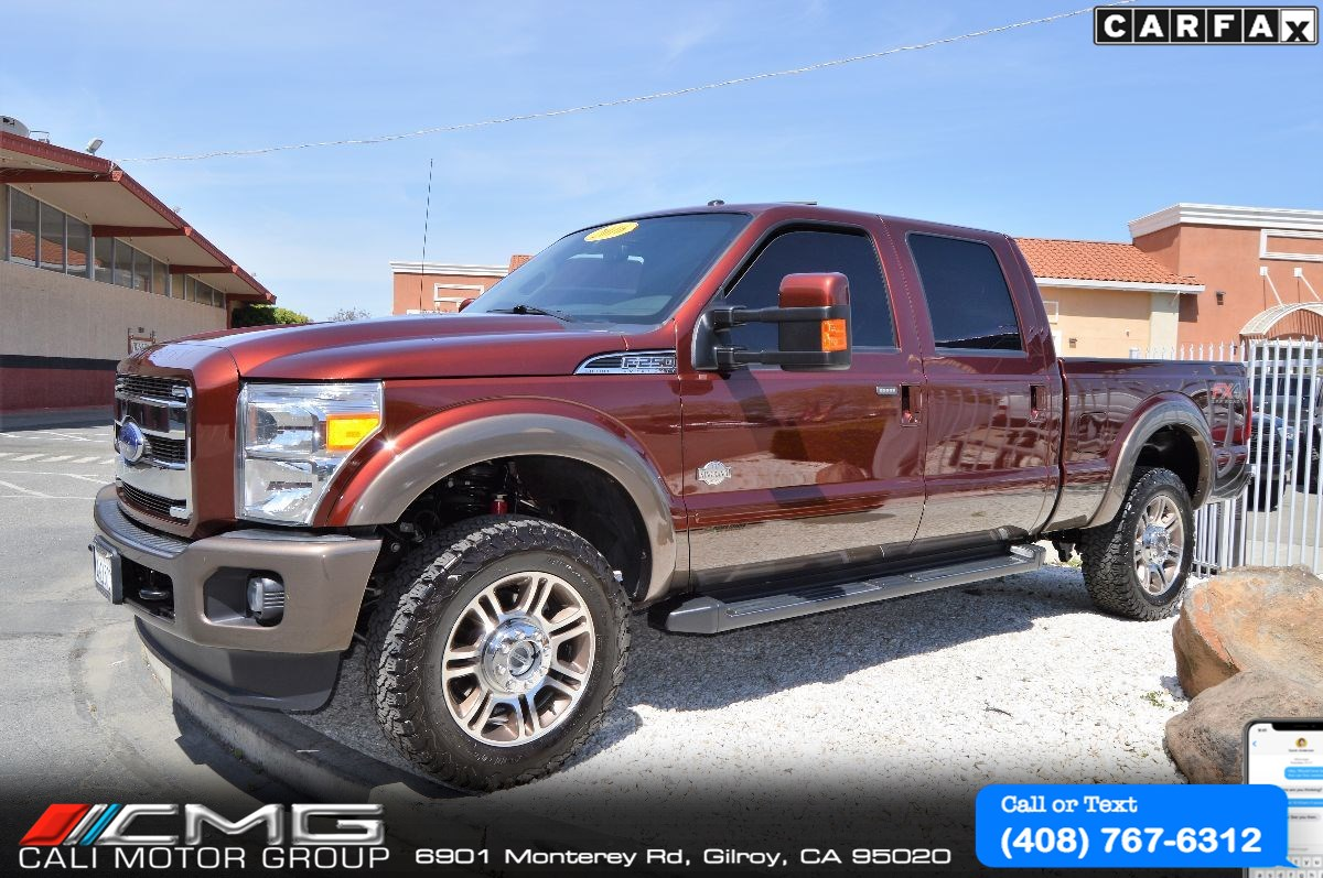2016 Ford Super Duty F-250 King Ranch *FX4 OFF ROAD *DIESEL *4X4