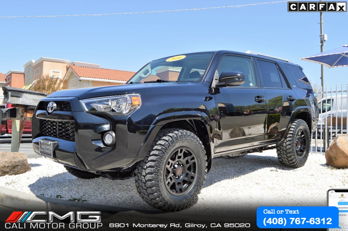 2016 Toyota 4Runner TRD OFF ROAD PKG *3TH ROW SEAT *4X4