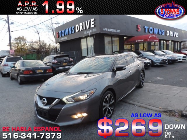 Sold 2016 Nissan Maxima 3.5 SL in Inwood