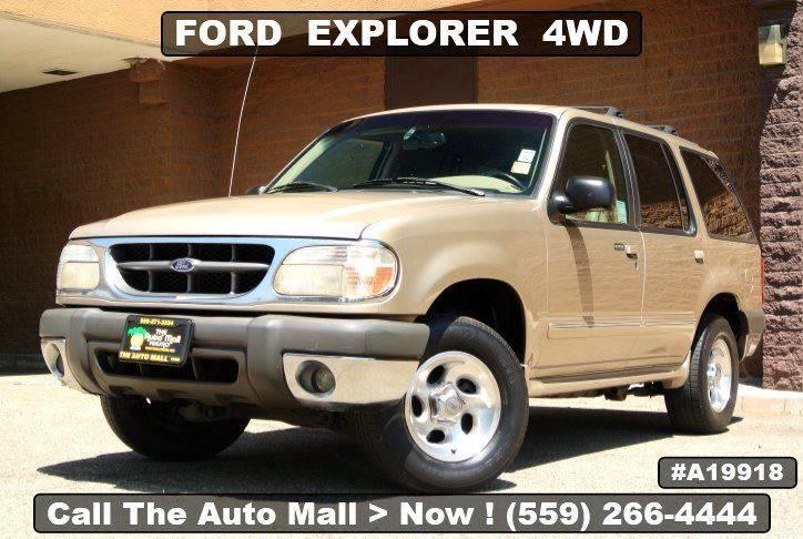 sold 1999 ford explorer xlt in fresno