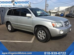 View 2004 Toyota Highlander