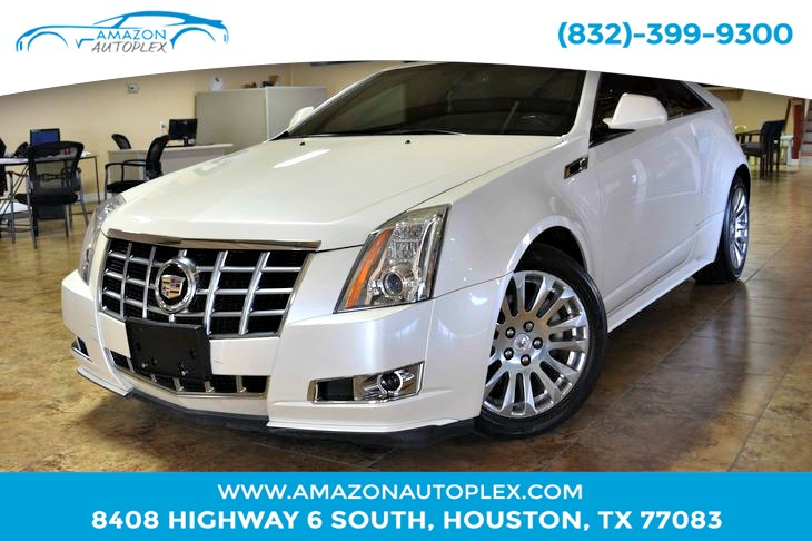 used 2014 cadillac cts coupe performance in houston