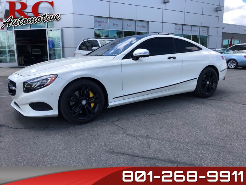 2015 Mercedes-Benz S 550 4MATIC Coupe