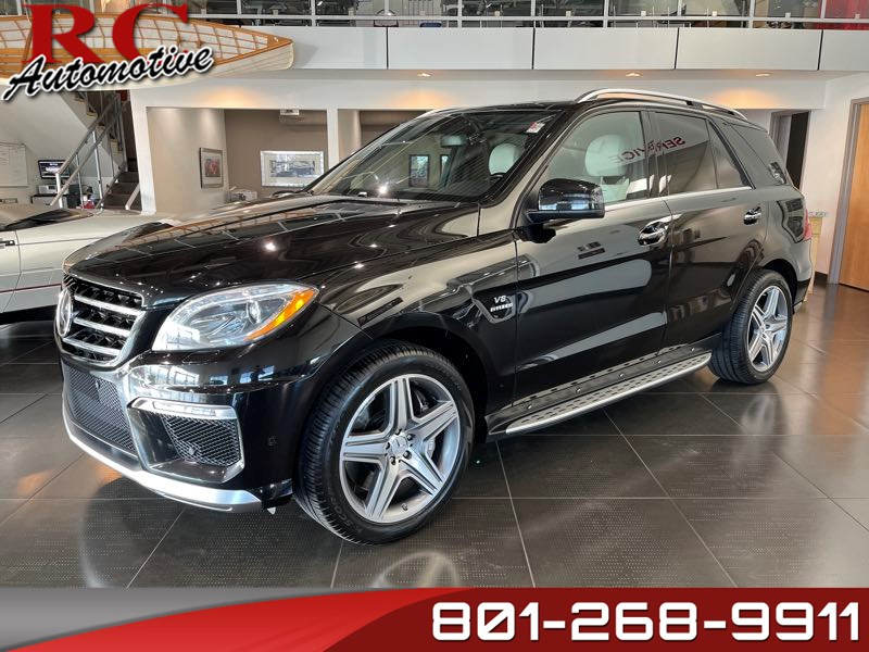 2013 Mercedes-Benz ML 63 AMG SUV