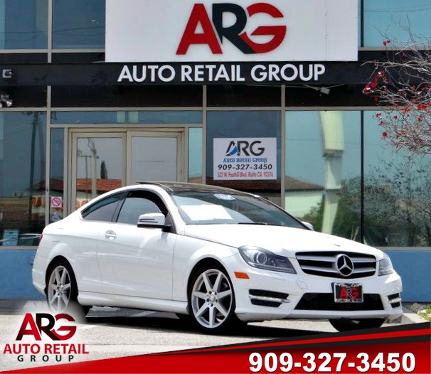 Sold 2013 Mercedes Benz C 250 Coupe In Rialto