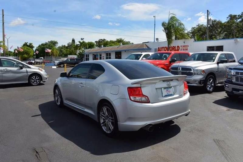 Sold 2011 Scion Tc Base 2dr Hatchback 6m In Miami