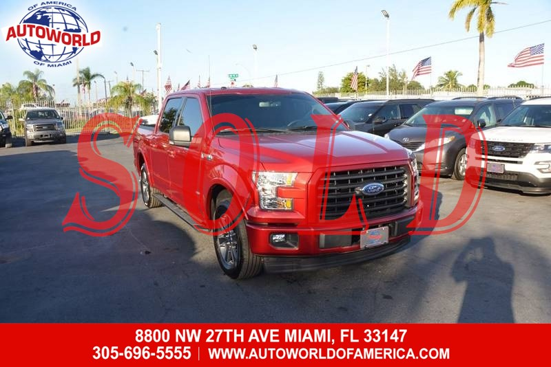 2017 Ford F-150 SuperCrew XLT Sport EcoBoost Texas Edition