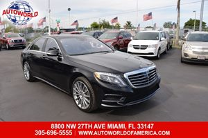 View 2016 Mercedes-Benz S 550 Sedan
