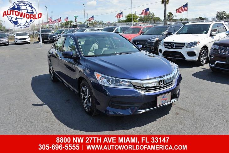 Used Honda Accord Sedan LX CVT In Miami - Invoice price honda accord 2017