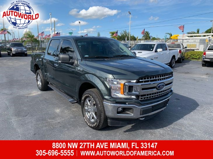 2018 Ford F-150 4WD SuperCrew XLT