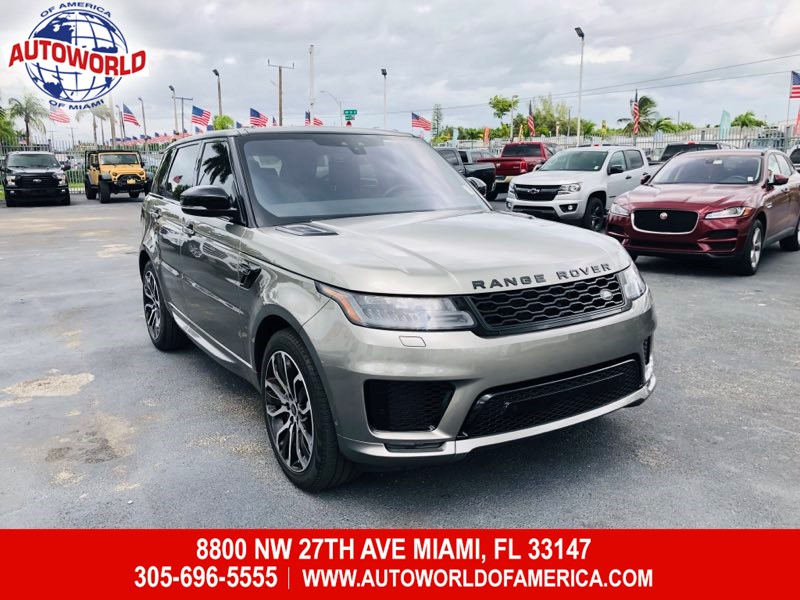 2018 Land Rover Range Rover Sport HSE Dynamic 4WD