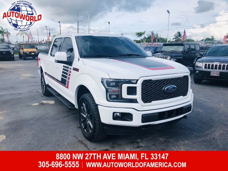 2018 Ford F-150 4WD SuperCrew Lariat Special Edition