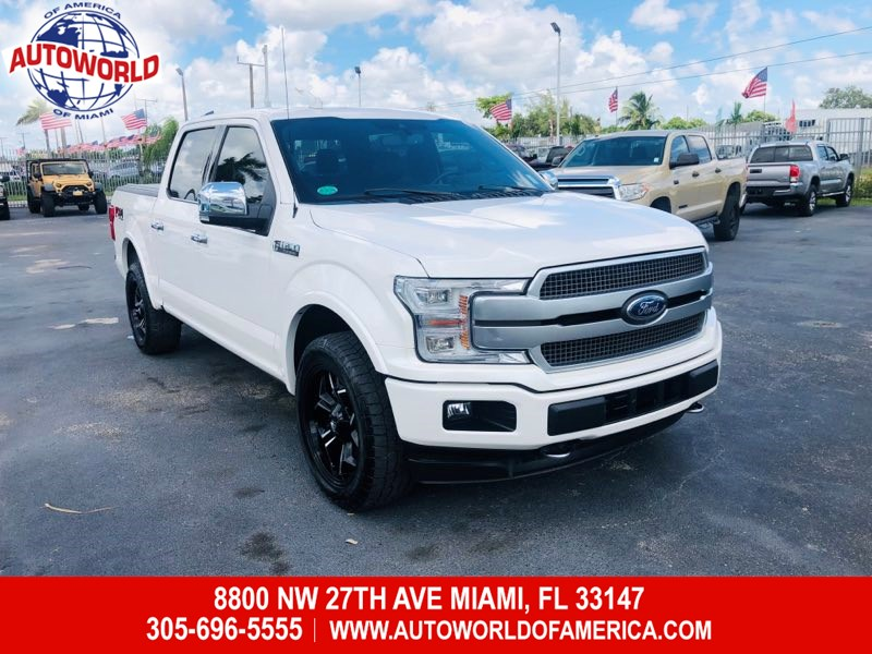 2018 Ford F-150 4WD SuperCrew Platinum