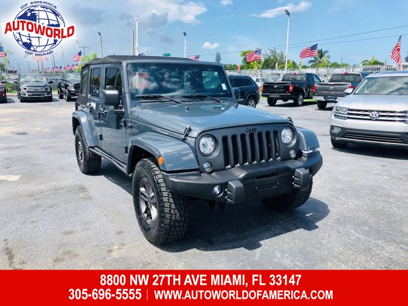2018 Jeep Wrangler JK Unlimited 4WD Freedom & Oscar Mike Edition