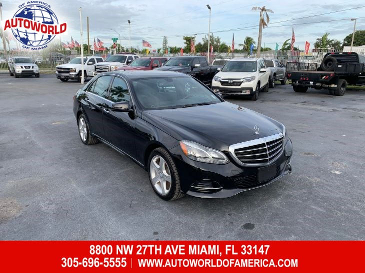 2014 Mercedes-Benz E-Class E-350 4MATIC Luxury Sdan