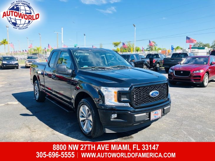 2018 Ford F-150 SuperCab XL STX Sport