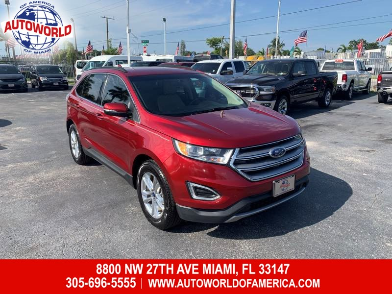 2017 Ford Edge SEL w/ Tech Package